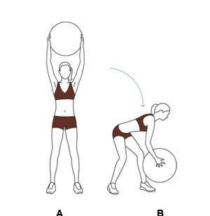 Side Squat (giúp bạn có vòng 3 săn chắc)